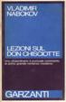 Cover of Lezioni sul Don Chisciotte