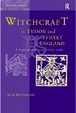 Cover of Witchcraft in Tudor and Stuart England