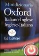 Cover of Minidizionario Oxford italiano-inglese, inglese-italiano
