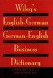 Cover of Wiley's English-German, German-English business dictionary