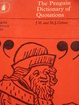 Cover of Dictionary of Quotations, The Penguin