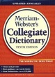 Cover of Merriam Webster's Collegiate Dictionary