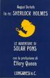 Cover of Le avventure di Solar Pons