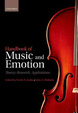 Cover of Handbook of Music and Emotion