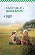 Cover of La mia Africa