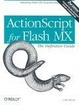 Cover of ActionScript for Flash MX