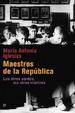 Cover of Maestros de la República