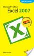 Cover of Microsoft Office Excel 2007 I Portatili