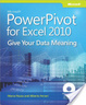 Cover of Microsoft PowerPivot for Excel 2010: Give Your Data Meaning