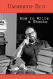 Cover of How to Write a Thesis