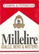 Cover of Millelire Giallo, nero & mistero