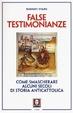 Cover of False testimonianze
