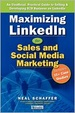 Cover of Maximizing LinkedIn for Sales and Social Media Marketing