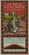 Cover of Le mille e una notte secondo Galland