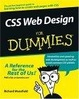 Cover of CSS Web Design For Dummies