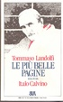 Cover of Le più belle pagine scelte da Italo Calvino