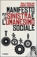 Cover of Manifesto per la Sinistra e l'umanesimo sociale