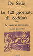 Cover of Le 120 giornate di Sodoma