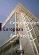 Cover of Contemporary European Architects