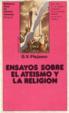 Cover of Ensayos sobre el ateísmo y la religión
