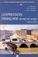 Cover of L'Expression française écrite et orale