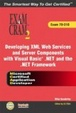 Cover of MCAD Developing XML Web Services and Server Components with Visual Basic