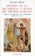 Cover of Historia de la decadencia y ruina del Imperio romano. Tomo V