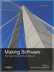 Cover of Making Software