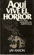 Cover of Aquí vive el horror