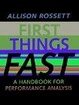 Cover of First Things Fast