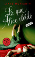 Cover of Lo que Alice olvidó