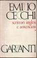 Cover of Scrittori inglesi e americani