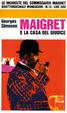 Cover of Maigret e la casa del giudice