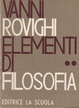 Cover of Elementi di filosofia - Vol. 2
