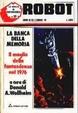 Cover of Robot 30 : La banca della memoria. Il meglio della fantascienza nel 1976