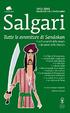 Cover of Tutte le avventure di Sandokan