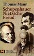Cover of Schopenhauer, Nietzsche, Freud