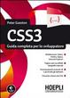 Cover of CSS3. Guida completa per lo sviluppatore