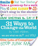 Cover of 31 Ways to Change the World