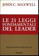 Cover of Le ventuno leggi fondamentali del leader