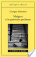 Cover of Maigret e le persone perbene