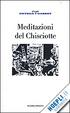 Cover of Meditazioni del Chisciotte