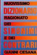 Cover of Nuovissimo Dizionario ragionato dei Sinonimi e dei Contrari