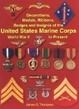 Cover of Decorations, Medals, Ribbons, Badges and Insignia of the United States Marine Corps