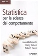 Cover of Statistica per le scienze psicosociali