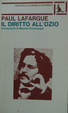 Cover of Il diritto all'ozio