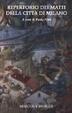 Cover of Repertorio dei matti della città di Milano