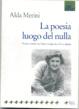 Cover of La poesia luogo del nulla