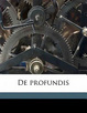 Cover of De Profundis