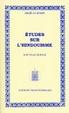 Cover of Etudes sur l'hindouisme